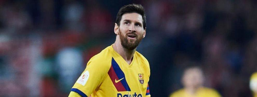 Lionel Messi se siente extenuado de tener que ir solo contra el mundo desde hace varias temporadas.