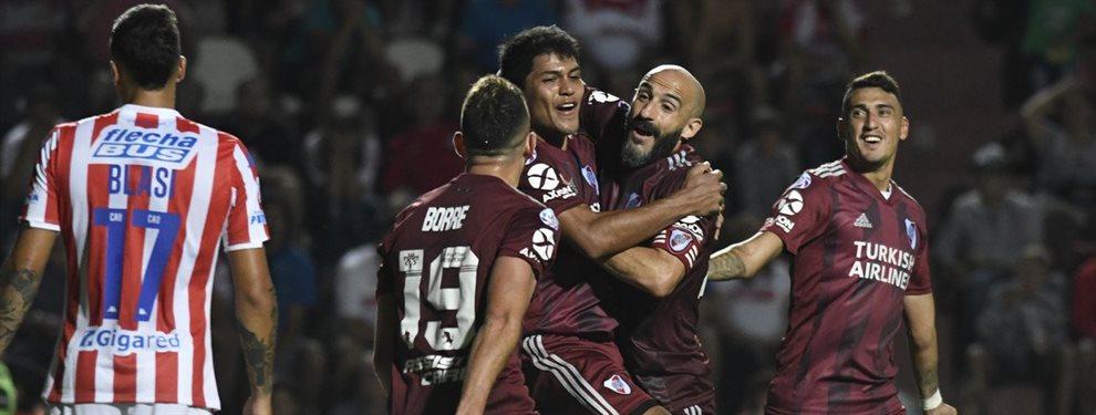 Unión de Santa y River se enfrentaron en el marco de la fecha 19 de la Superliga.