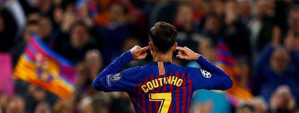 Philippe Coutinho lleva dos años sin encontrar su fútbol. El brasileño no tiene suerte y quiere volver a empezar de nuevo. El técnico le quiere otra vez