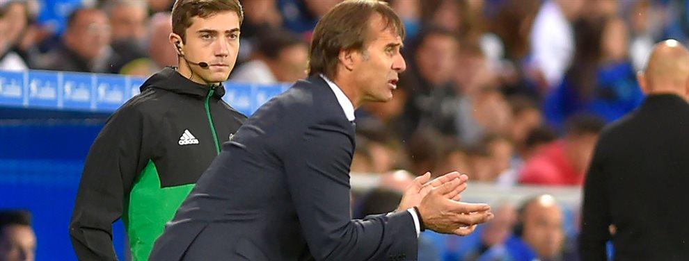 El Sevilla está inmerso en una crisis que puede llevarse por delante a Julen Lopetegui. Desde el Sevilla ya han hablado con su posible sustituto.