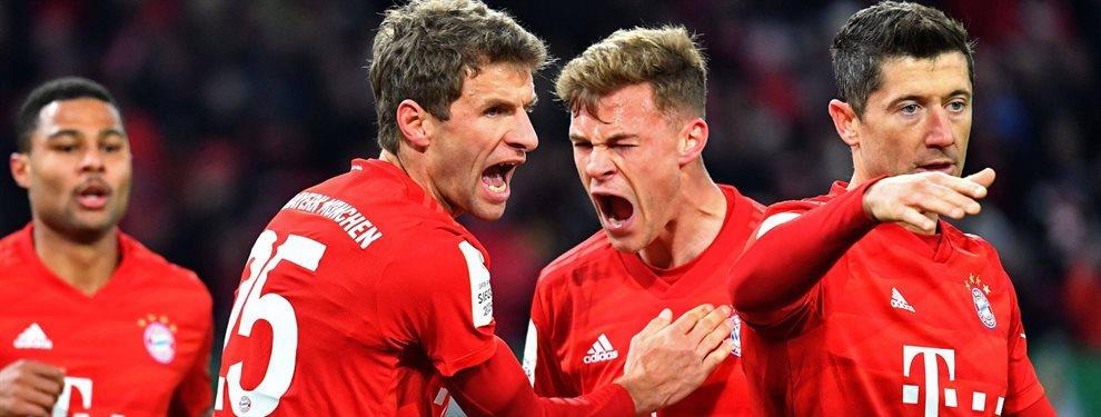 El FC Barcelona se lanza a por una vieja pretensión del Bayern de Múnich ¡El club bávaro le busca una salida y el club que preside Bartomeu lo quiere!
