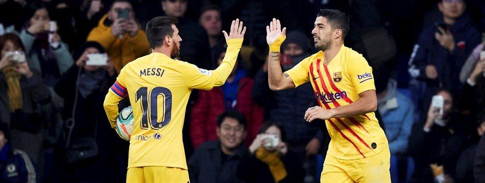 Luis Suárez ha vuelto a priorizar a la selección uruguaya antes que al Barça, como el año pasado