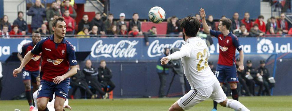 Nacho Fernández dejará el Real Madrid en verano y su destino apunta a ser la Lazio