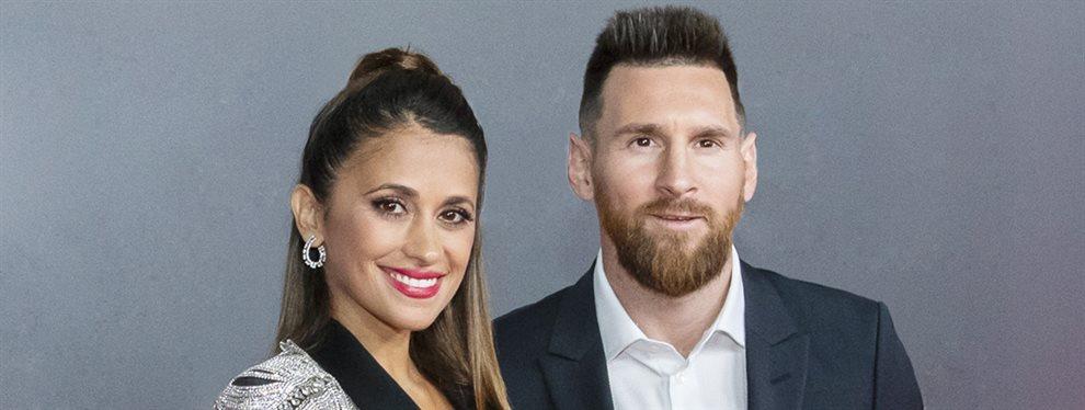 Antonella Roccuzzo, Leo Messi, Luis Suárez y Sofía Balbi se fueron a un concierto
