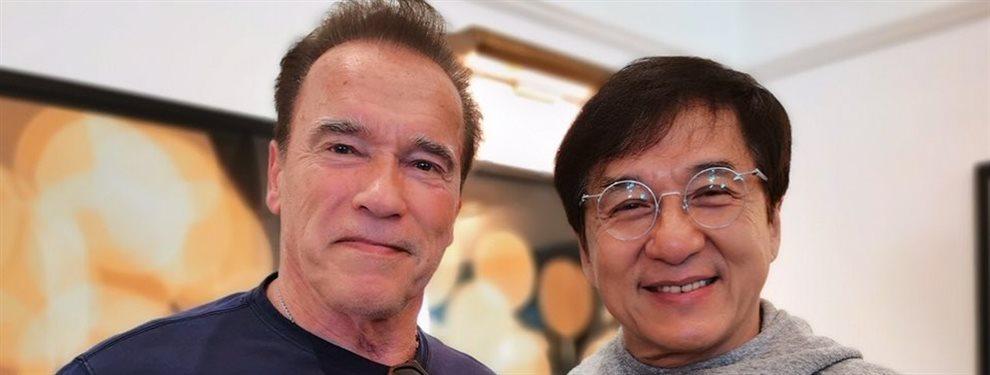 Arnold Schwarzenegger y Jackie Chan son protagonistas de una película de lo más extraño que está ambientada en China y ya estrenada en Rusia en el 2019
