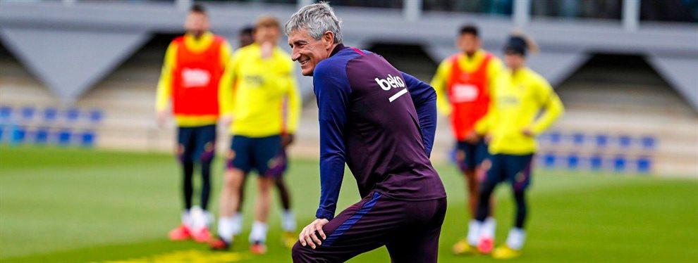 ¡Ojo a lo que pide Quique Setién! Fichaje sorpresa para el Barça