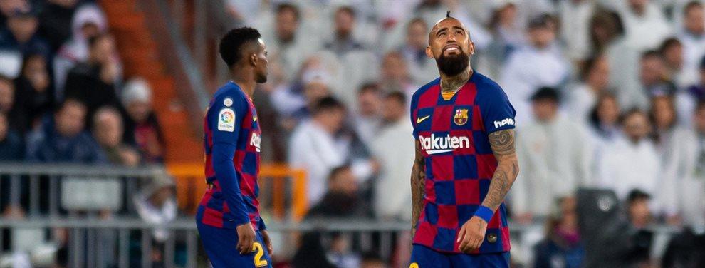 60 millones más Semedo y Vidal: oferta bomba del Barça