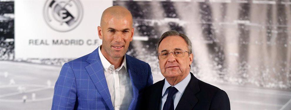 Zidane se lo suplica a Florentino Pérez: el galáctico que quiere como sea