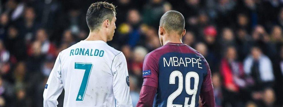 ¡Van a por Cristiano Ronaldo! El PSG convence así a Kylian Mbappé