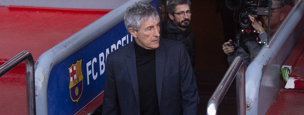 ¡Quique Setién los pide! Los dos primeros fichajes cerrados en el Barça