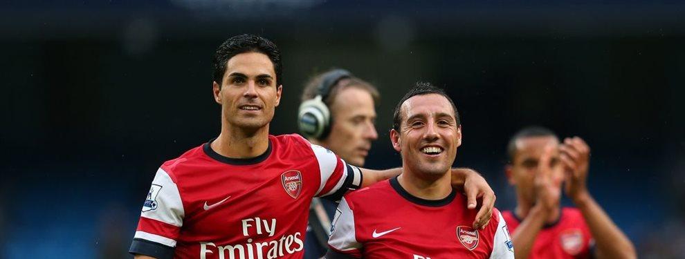 De nuevo le dice no al Real Madrid y regresa al Arsenal