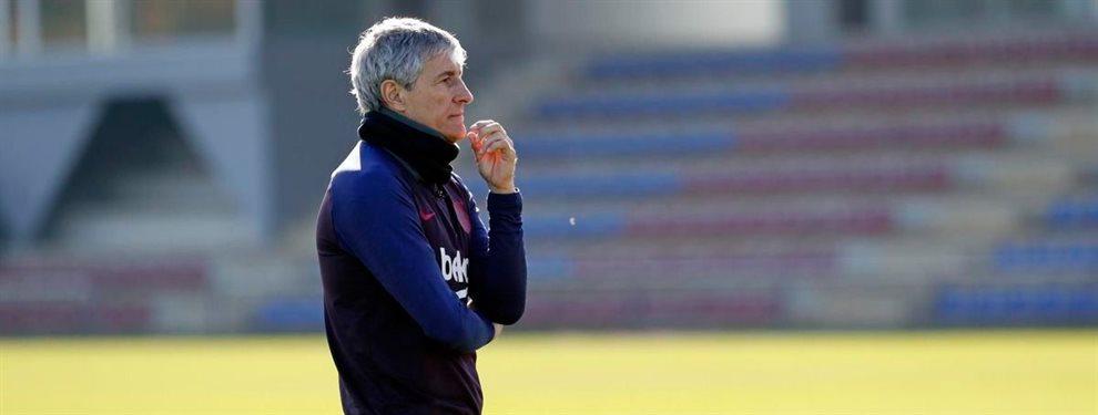 Quique Setién no los quiere: los dos fichajes que veta al Barça