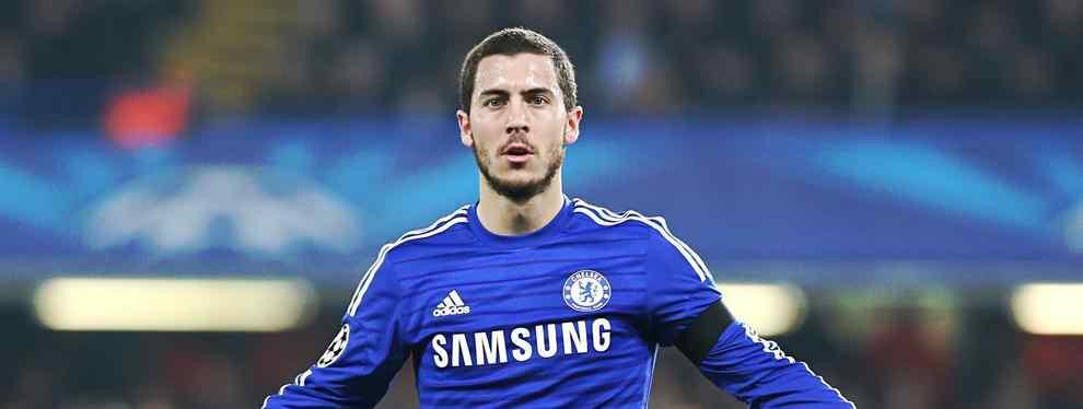 El conjunto azulgrana ya ha hablado con Eden Hazard y el belga podría aterrizar en el Camp Nou el próximo verano