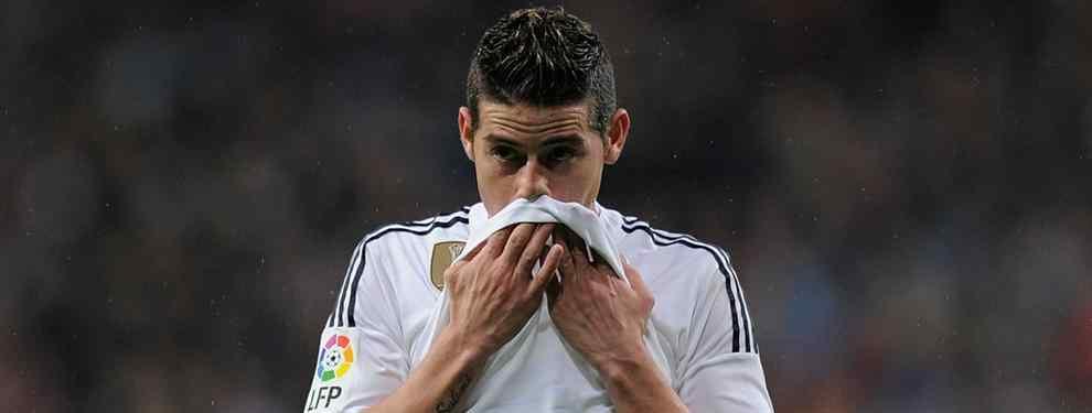 El futuro de James en el Madrid se tambalea por culpa de un viejo conocido