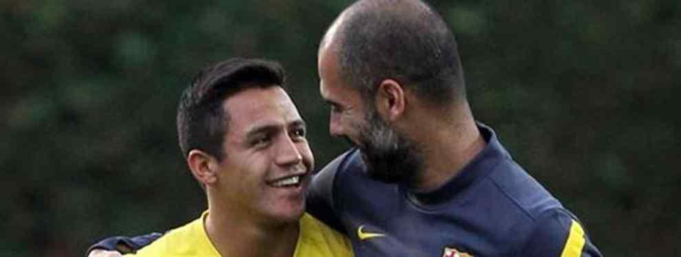 Pep Guardiola se informa sobre la situación de Alexis Sánchez en el Arsenal
