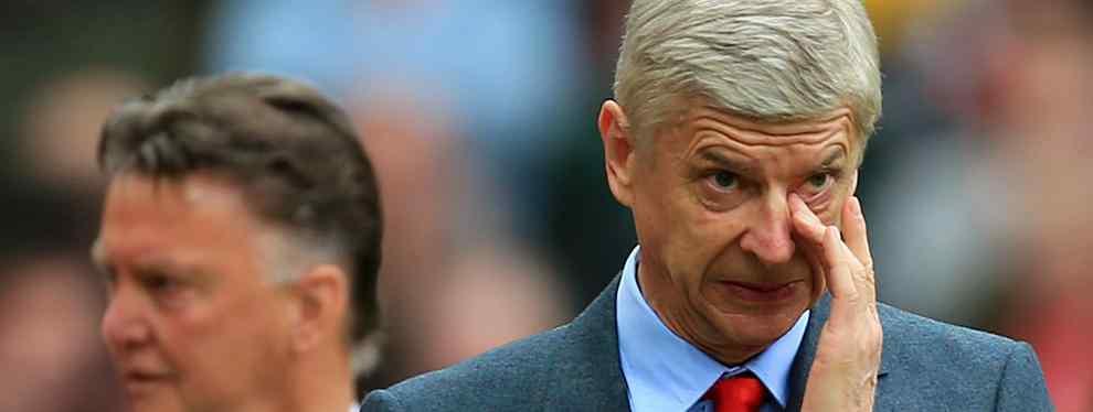 Louis Van Gaal quiere romper los planes de Arsene Wenger en el Arsenal