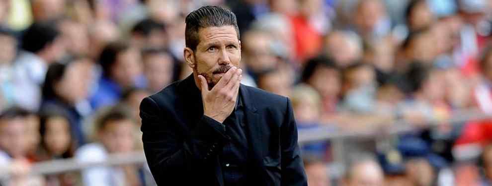 Simeone pide dos fichajes en la agenda del Atlético para darle el sí al Chelsea