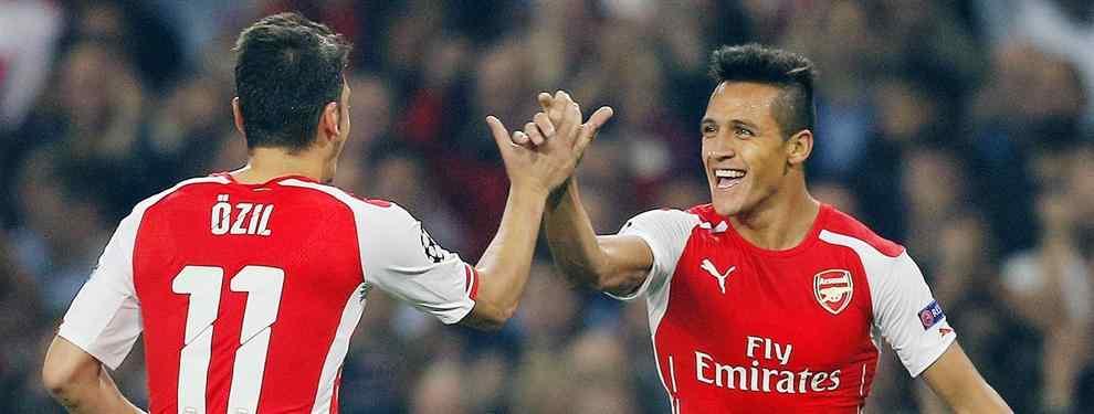 Los dos delanteros que quiere el Arsenal para que acompañen a Alexis