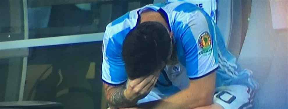 La mochila de Messi se sigue haciéndo más pesada y difícil de cargar