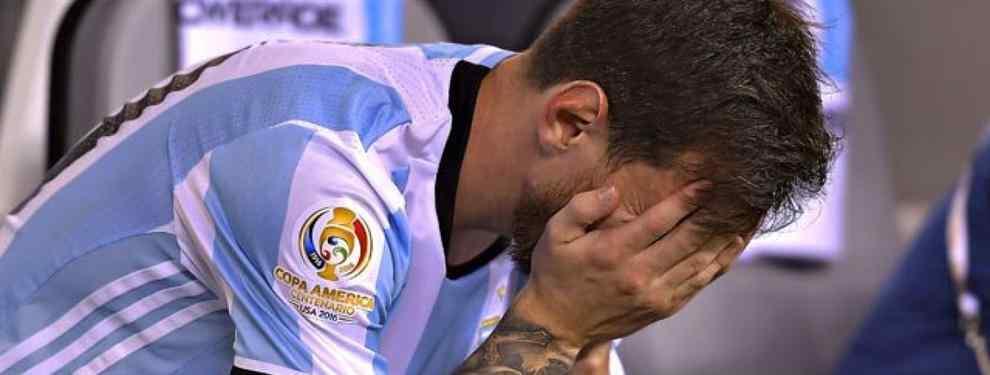Las consecuencias para el FC Barcelona de la decisión de Messi con Argentina