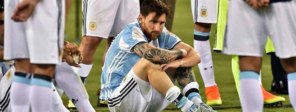 Los cuatro fracasos con Argentina que Leo Messi no se perdona