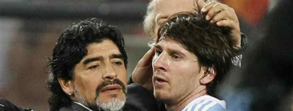 """""""Lo dejaron solo a Messi y yo no lo quiero dejar solo"""""""