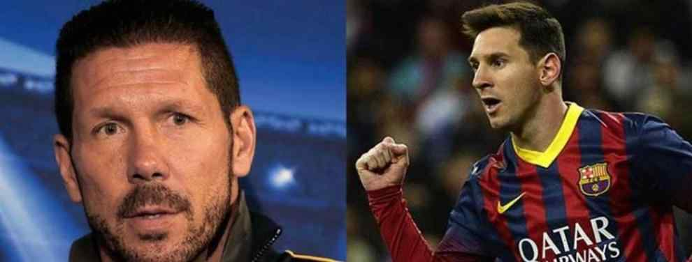 ¿Messi pedirá a Simeone en la selección para volver con Argentina?