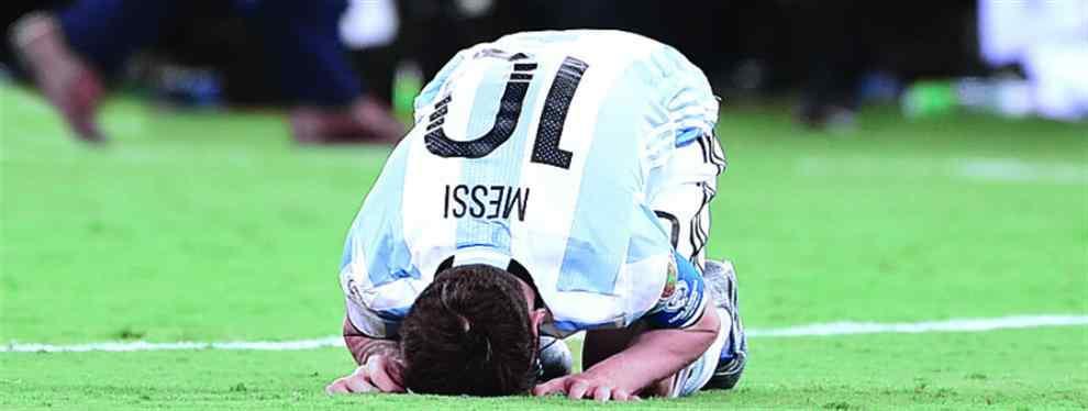 Las insólitas cartas que le escribieron a Lionel Messi para que no renuncie