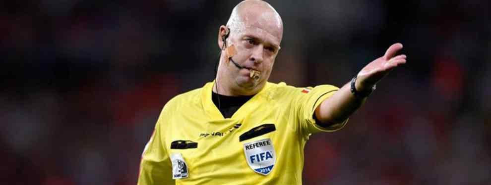 ¿El árbitro de la final se fue de fiesta con dos chilenas después del partido?