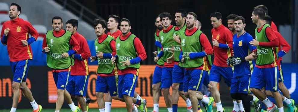 El tapado para entrenar la seleccion española