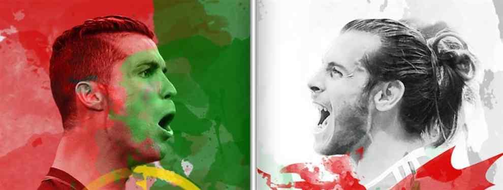Portugal y Gales por el primer boleto a la final
