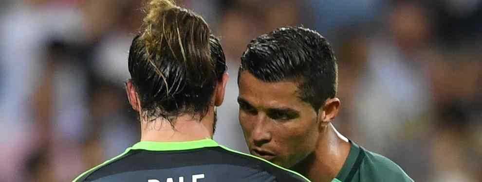 Gareth Bale se la jugó a CR7 por la espalda: lo que la cámara no vio
