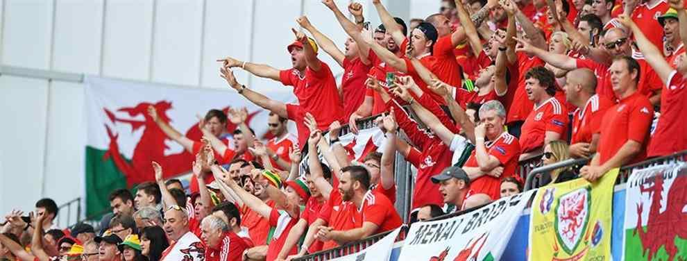 Zarpazo de Gales a Inglaterra tras acabar su sueño en la Eurocopa 2016