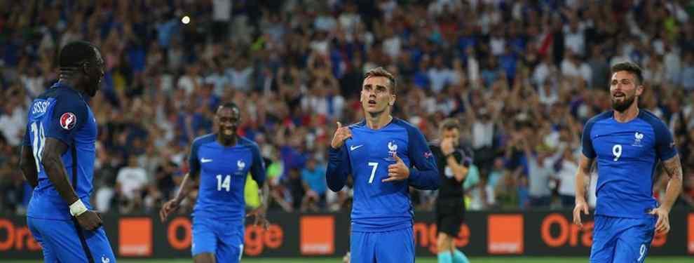Francia envía a los campeones del mundo de vuelta a casa