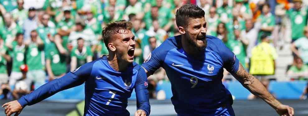 Francia es el segundo finalista en la Euro