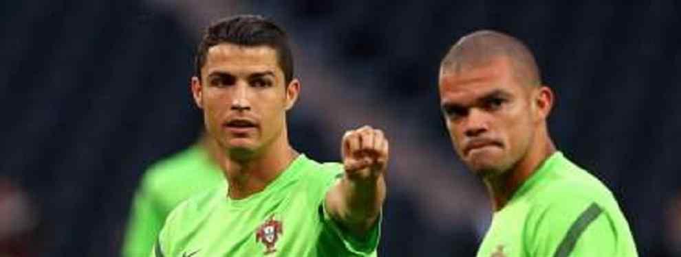 La charla entre Cristiano Ronaldo y Pepe en clave Balón de Oro