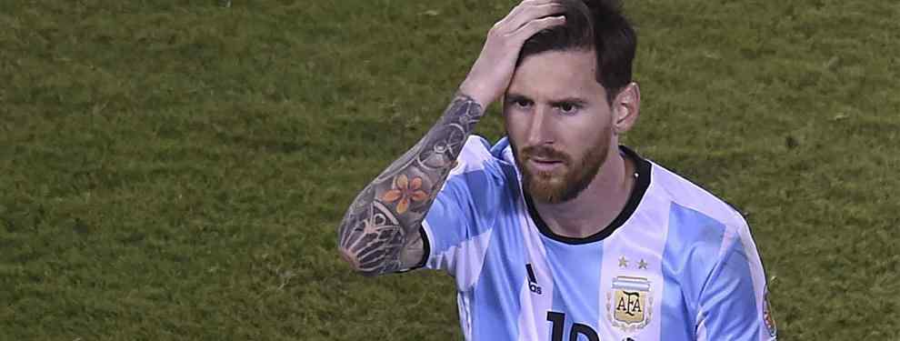 El entorno de Messi vive con preocupación la final de la Eurocopa