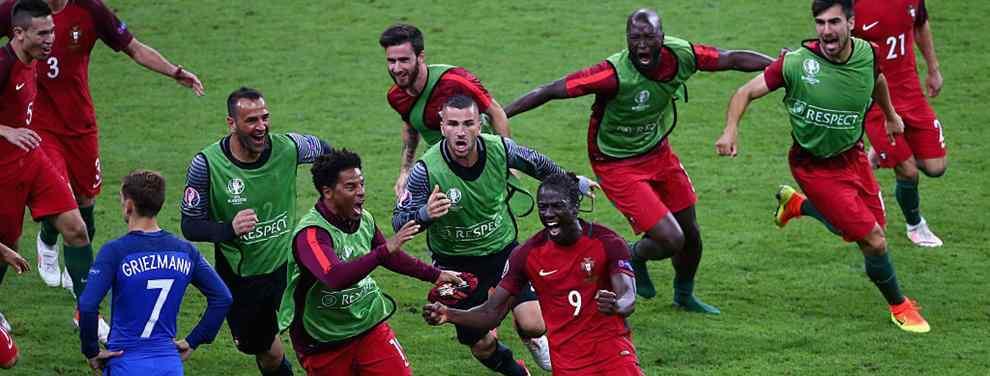 Eurocopa 2016: Éder le regala el título a Portugal y a Cristiano