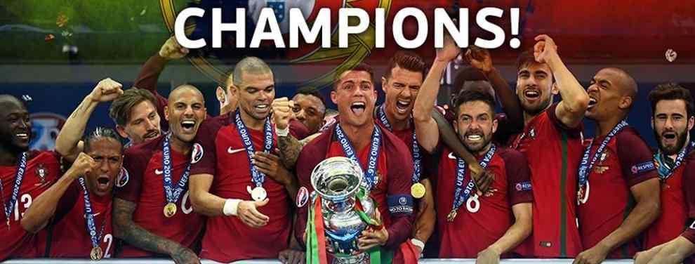 Portugal nuevo campeón de Europa