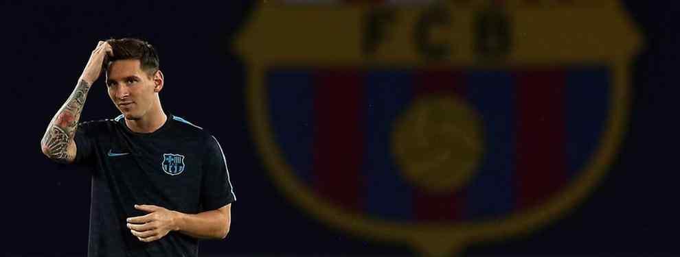 Messi acortó sus vacaciones tras una conversación con Luis Enrique