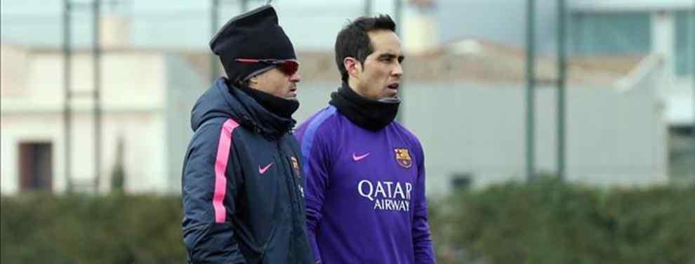 La decisión que ha tomado Claudio Bravo sobre su futuro en el Barça