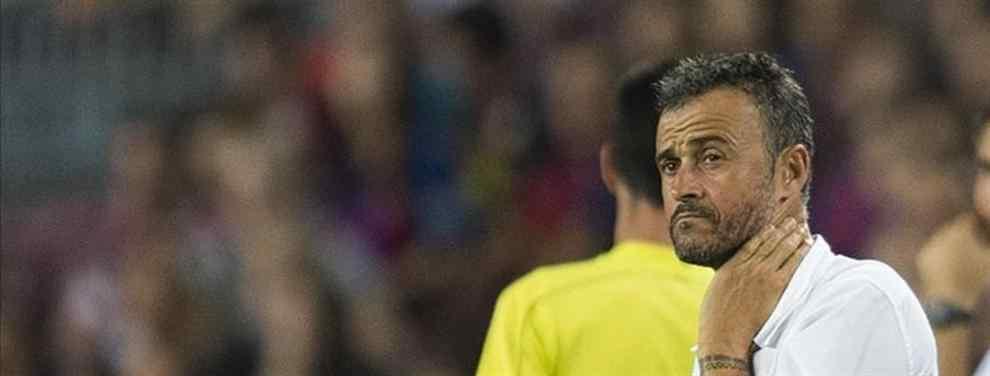 El 'enchufado' de Luis Enrique en la plantilla del FC Barcelona