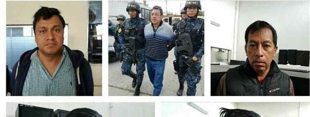 Capturan a ocho personas por corrupción en Bomberos Voluntarios y Udevipo