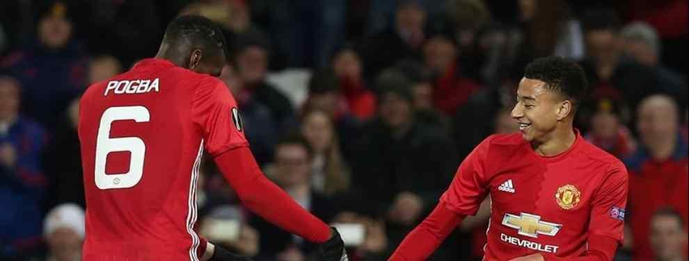 Manchester United renace en la Europa League