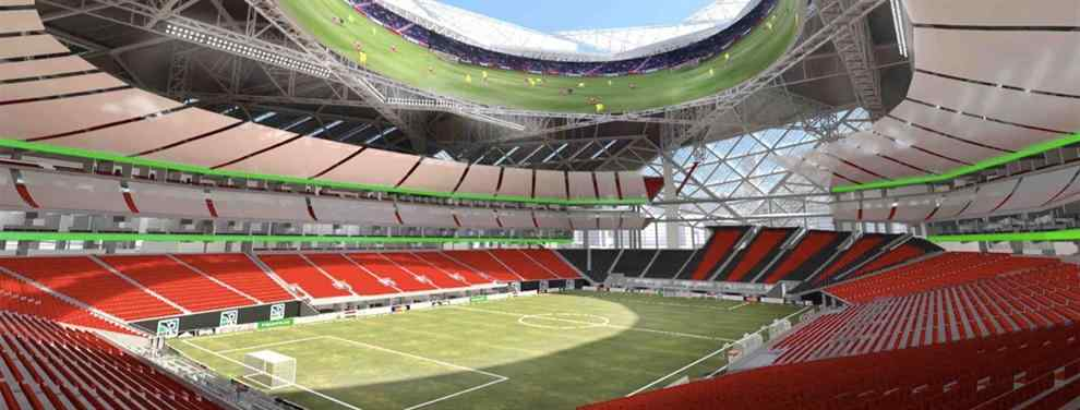 El Atlanta United estrenara el Estadio Mercedes Benz  antes que los Falcons