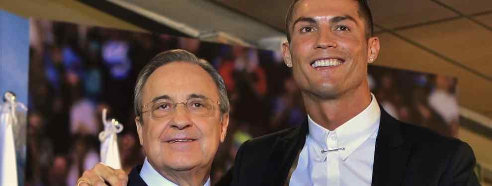 El plan secreto de Florentino Pérez para sacar a Cristiano Ronaldo del Madrid