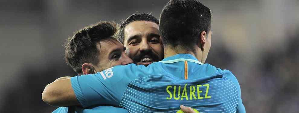 El Barcelona gana 4-0 al Eibar con goles de Messi, Suárez y Neymar