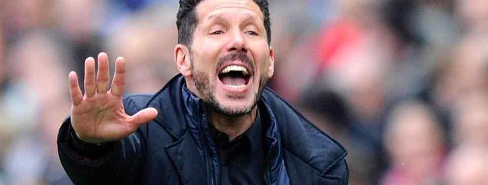 La histeria que Simeone trata de apagar en el vestuario (y que apunta al Barça)