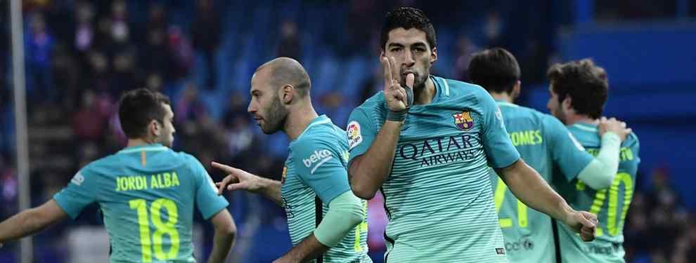 Suárez y Messi acercan al Barcelona a la final de Copa del Rey