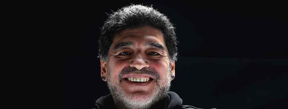 """Maradona se saca otro """"traidor"""" de la chistera después del escándalo con Icardi"""